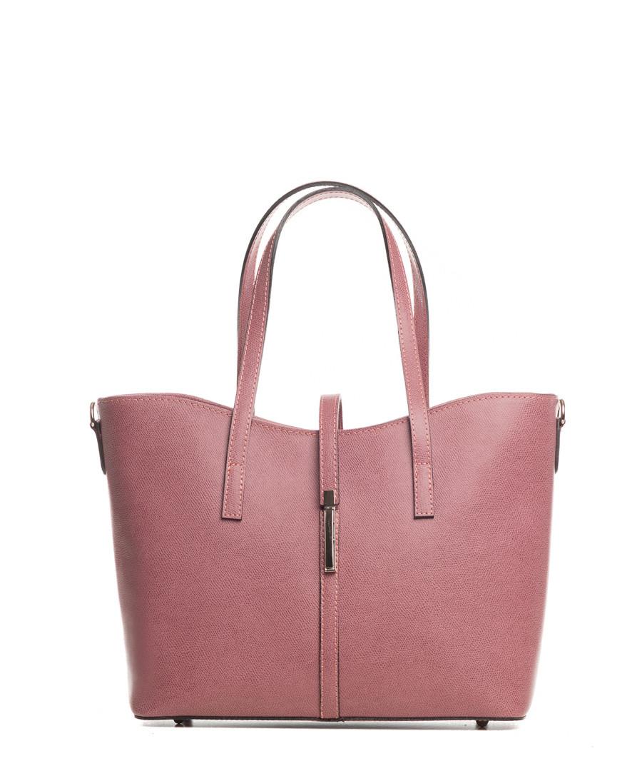 Montecarlo dusty pink leather shopper Sale - lucca baldi