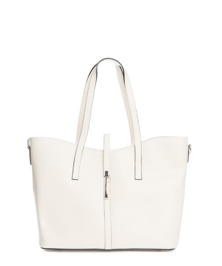 Montecarlo beige leather shopper Sale - lucca baldi