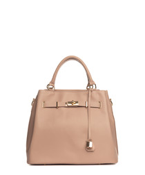 Panaro powder leather shopper