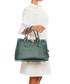 Nure green leather shopper Sale - lia biassoni Sale
