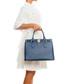 Nure dark blue leather shopper Sale - lia biassoni Sale