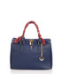Nure Sorella dark blue leather shopper Sale - lia biassoni Sale