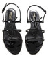 Cassandra black patent leather sandals Sale - saint laurent Sale