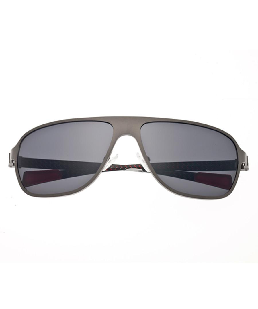 Atmosphere gunmetal & black sunglasses Sale - breed