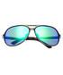 Earhart gunmetal & blue pilot sunglasses Sale - breed Sale