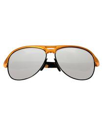 Jupiter orange & silver-tone sunglasses