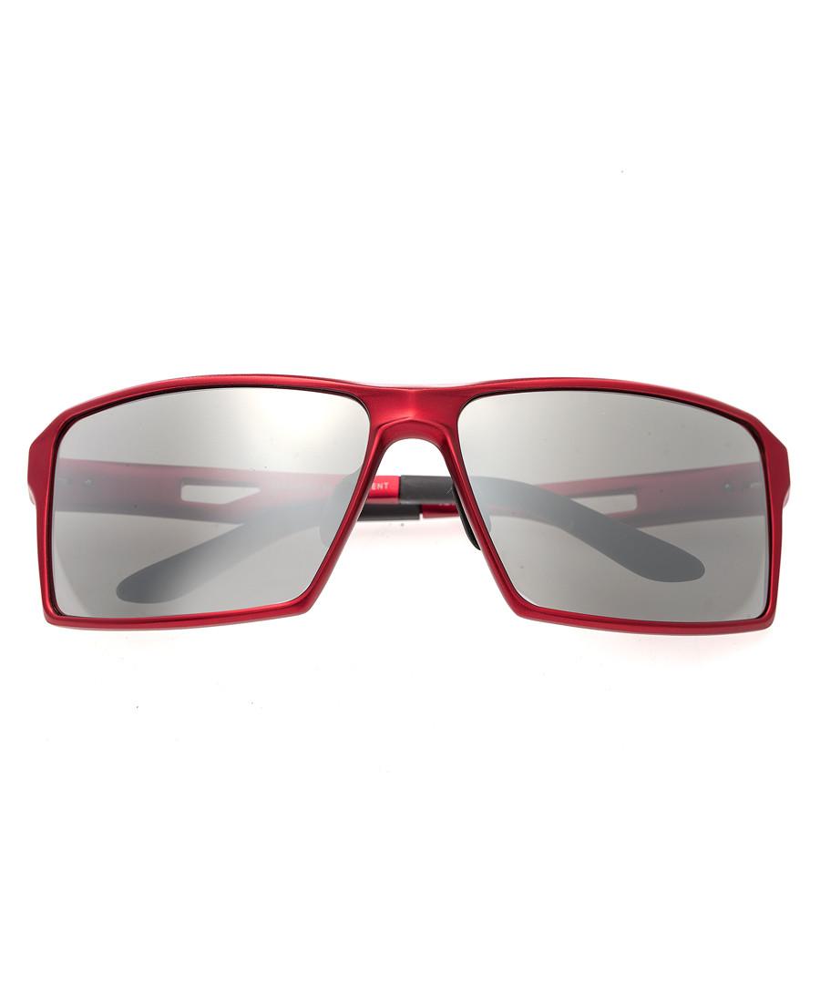 Centaurus red & silver-tone sunglasses Sale - breed