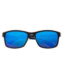 Hydra black & blue sunglasses