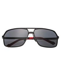 Fornax black & black sunglasses