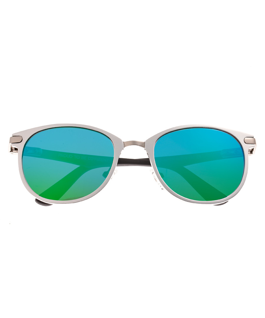 Cetus silver-tone & aqua sunglasses Sale - breed