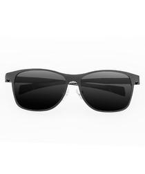 Templar gunmetal & black sunglasses
