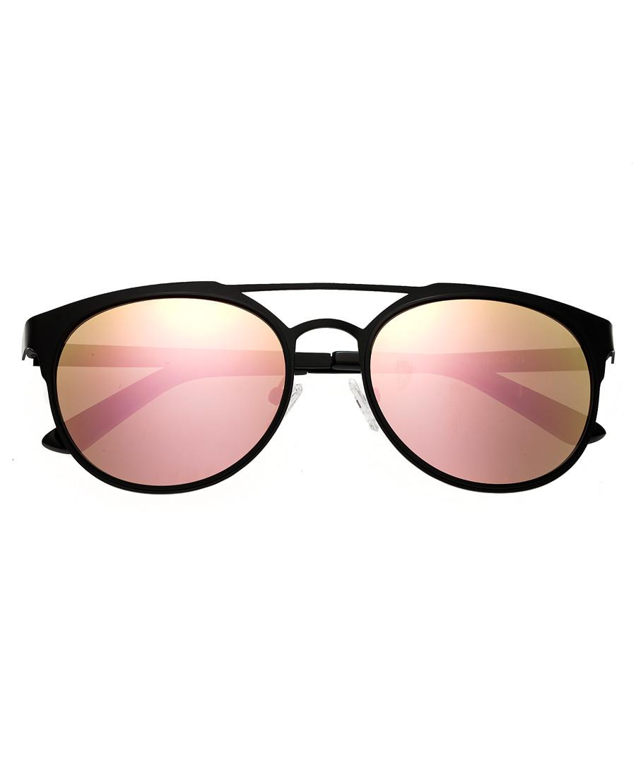 Mensa black & rose gold-tone sunglasses Sale - breed
