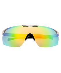 Shore silver-tone & solarize sunglasses