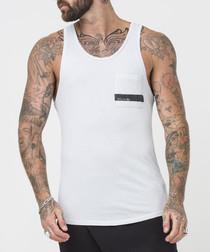 stripe plein air pure cotton vest