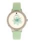 Delilah mint leather flower watch Sale - bertha Sale