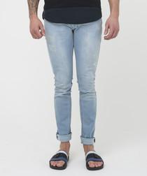 hero light blue skinny jeans