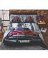 Santiago car print double duvet set Sale - rapport Sale