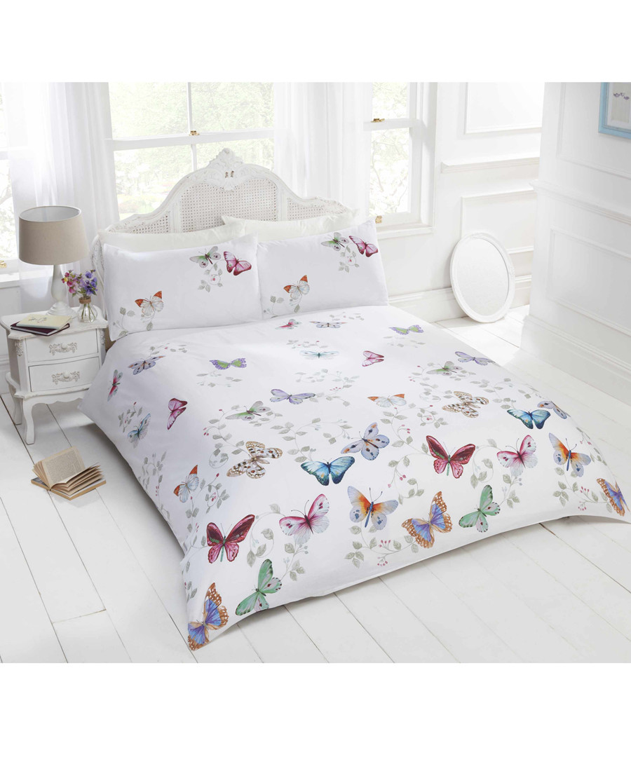 Mariposa butterfly double duvet set Sale - rapport
