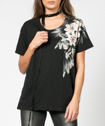 Iconic tropical print T-shirt
