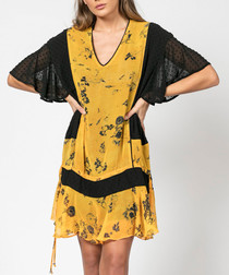Poise dawn print tunic dress