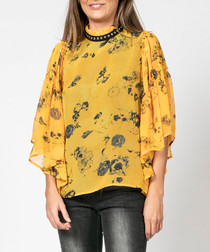 Poise dawn print blouse