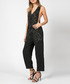 Enterprise jet black jumpsuit Sale - religion Sale