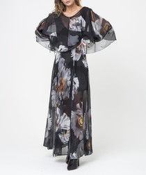 Crush enchantment print maxi dress