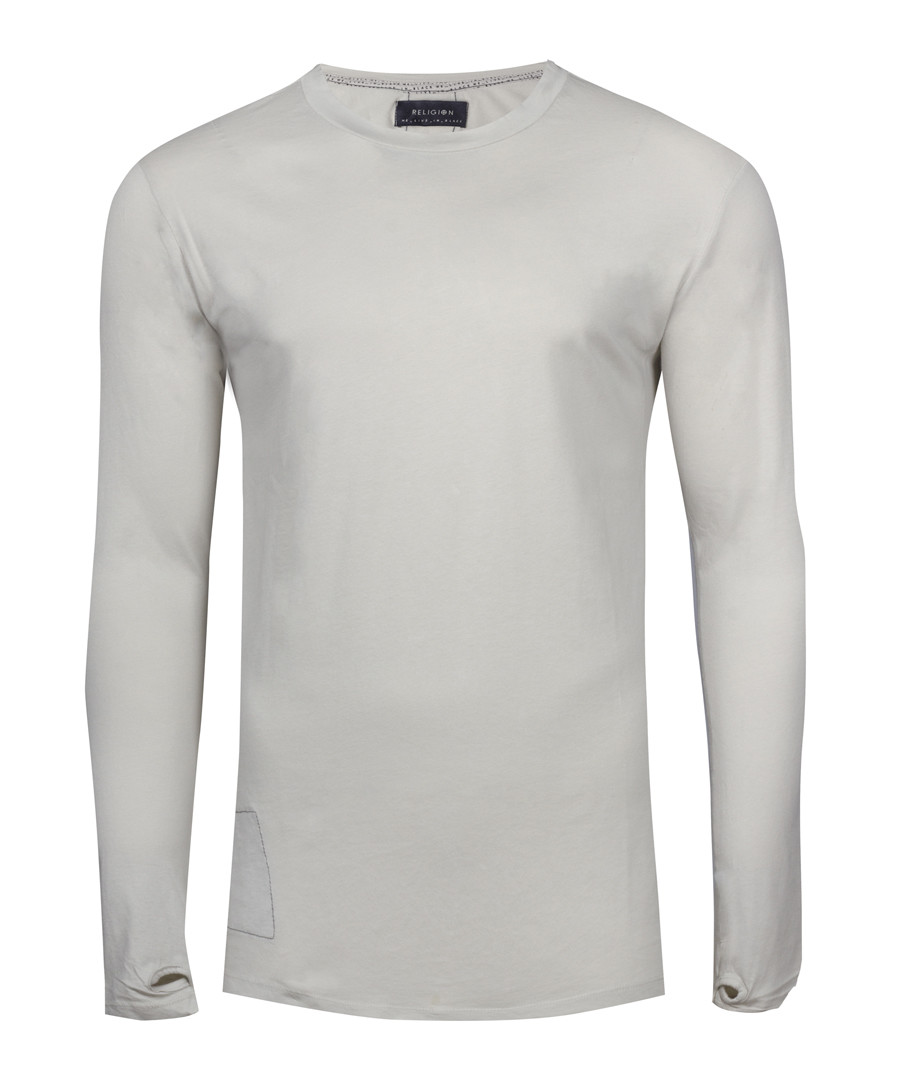 matteo quicksilver cotton thumbhole top Sale - religion