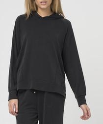 Tendency jet black hoodie