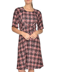 Inquest red check dress