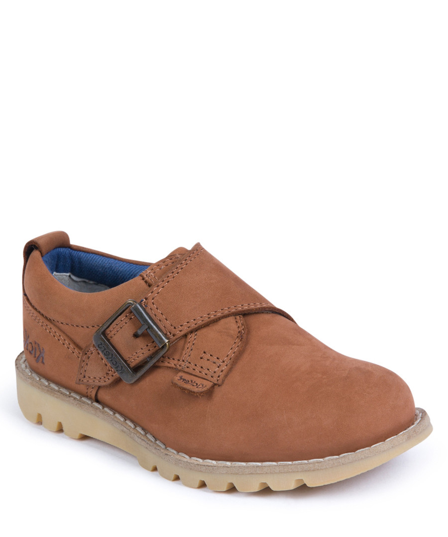 Kymbo tan leather monk shoes Sale - KICKERS