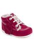 Magenta suede trim boots Sale - KICKERS Sale