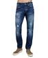 dark wash cotton & hemp straight jeans Sale - true religion Sale