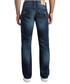 dark wash pure cotton straight jeans Sale - true religion Sale