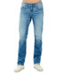 mid wash cotton straight jeans Sale - TRUE RELIGION Sale