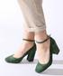 Olive suede heeled sandals Sale - rovigo Sale