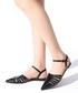 Black patent leather pointed sandals Sale - rovigo Sale