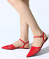 Red patent leather pointed sandals Sale - rovigo Sale