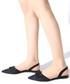 Black suede bow slingback sandals Sale - rovigo Sale