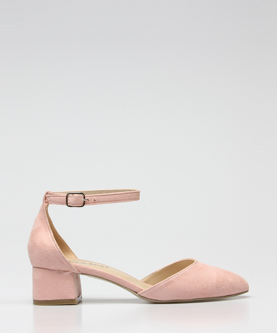 Powder suede heeled sandals Sale - rovigo