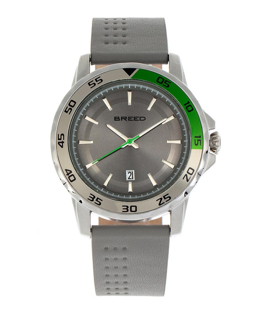 Revolution light grey leather watch Sale - breed
