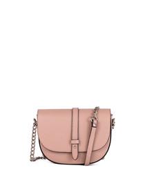 Giusanno rose leather crossbody bag
