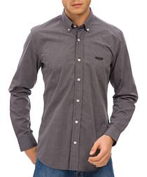 grey pure cotton shirt