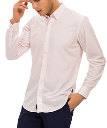 pale rose pure cotton shirt