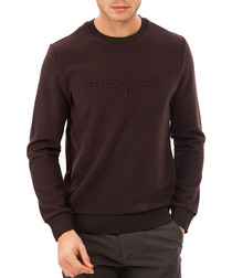 brown crew jumper