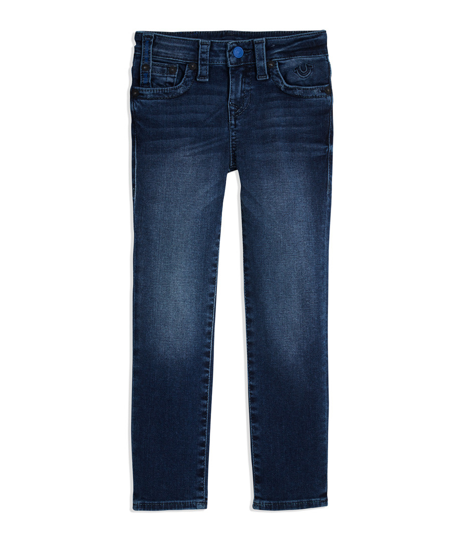482bbd7f Discount boys' dark wash straight jeans | SECRETSALES