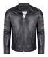 black leather padded jacket Sale - felix hardy Sale