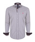 pewter gingham pure cotton shirt Sale - felix hardy Sale