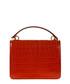 Harlow red moc-croc leather shoulder bag Sale - MULBERRY Sale