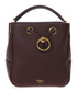 Burgundy leather bucket bag Sale - mulberry Sale